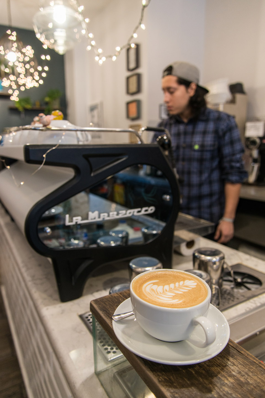 Latte Art at 8th Street