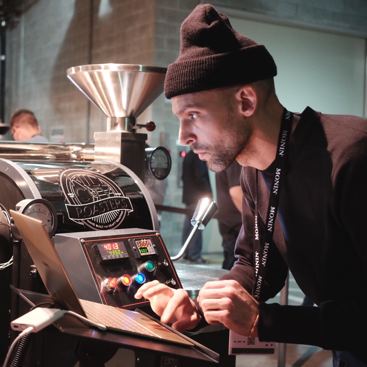 Andrew Oberholzer at the US Coffee Championships