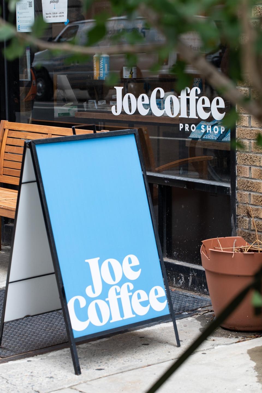Joe Coffee Pro Shop Facade