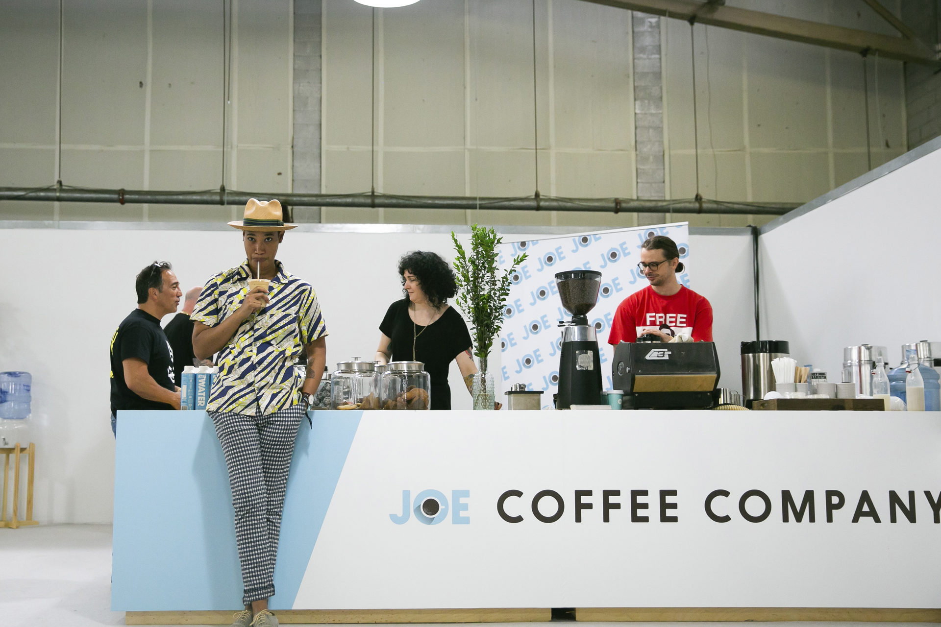 Joe Coffee catering coffee bar