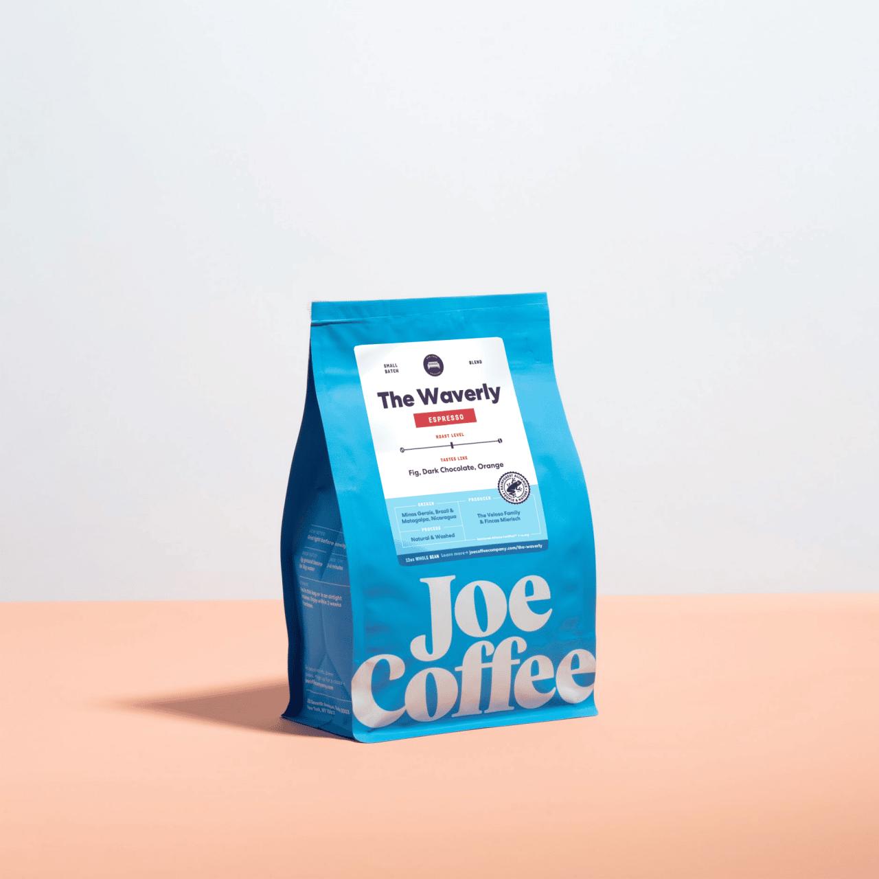 12oz bag of The Waverly Espresso