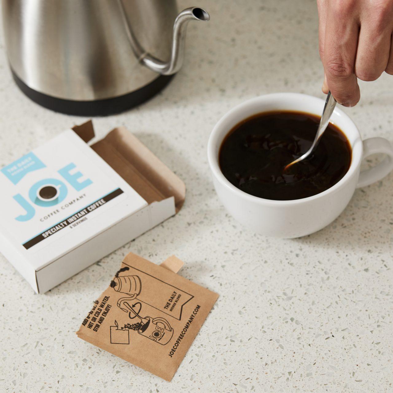 Stirring Joe instant coffee