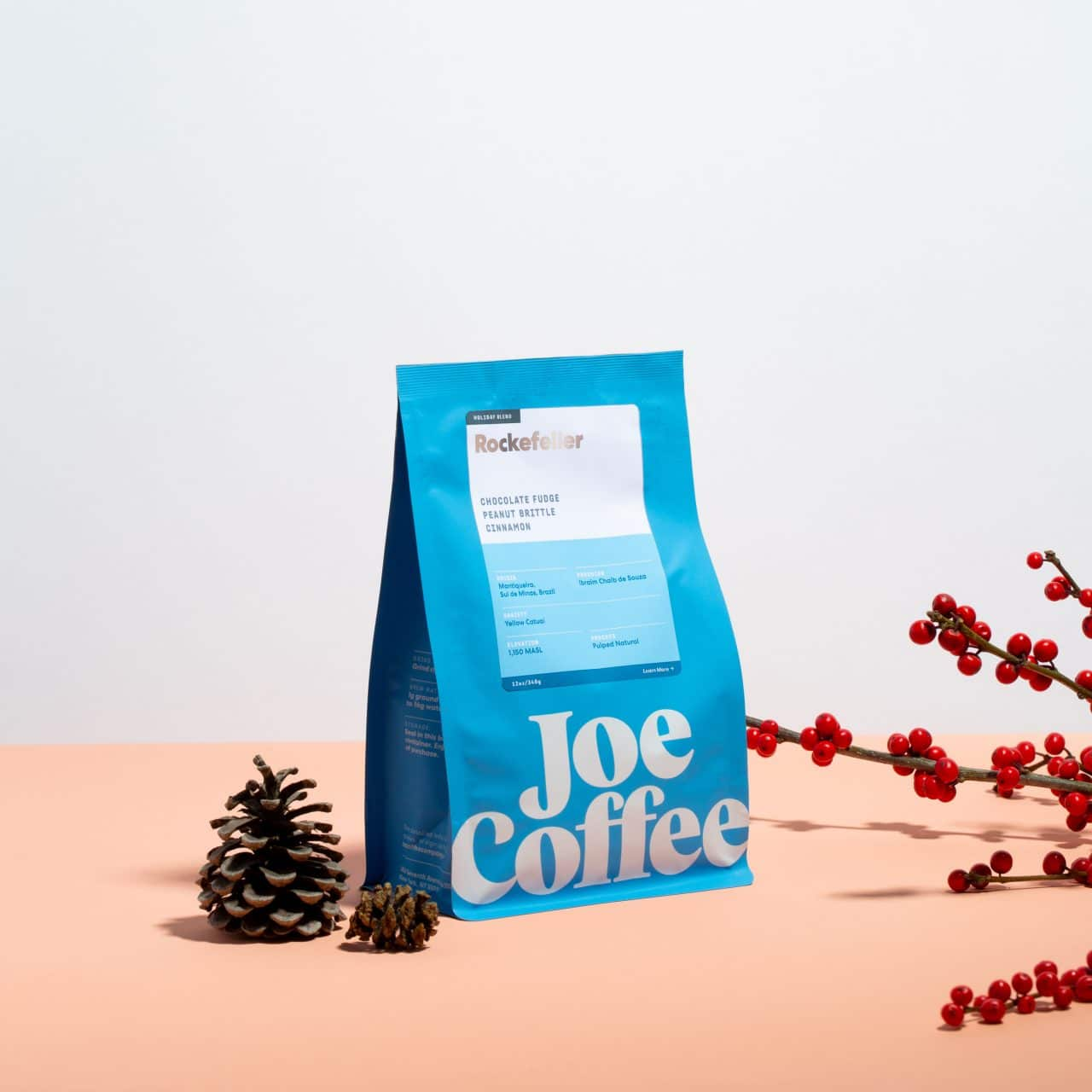 12oz bag of Rockefeller Coffee