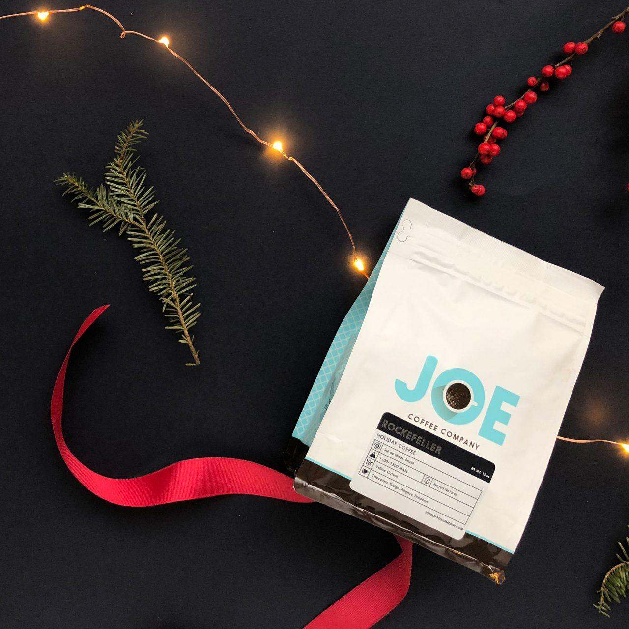 Rockefeller holiday coffee bag