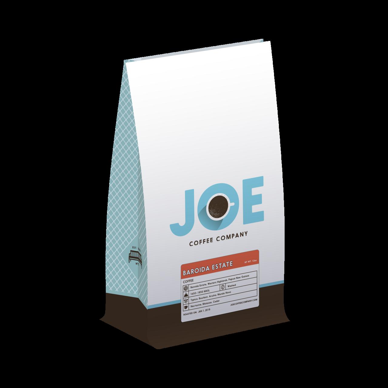 12oz bag of Papua New Guinea Baroida Estate Coffee