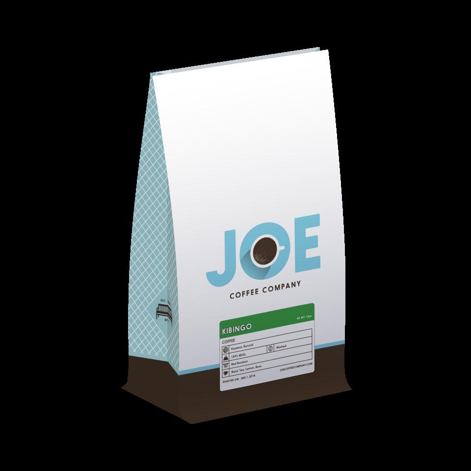 12oz bag of Burundi Kibingo coffee