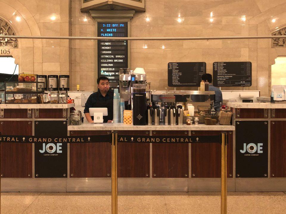 Kiosk in Grand Central Terminal