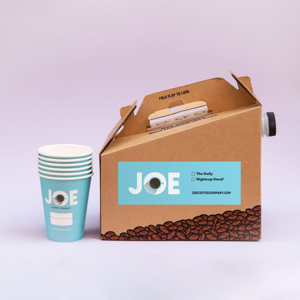 Joe to Go Boxed Coffee with Cups