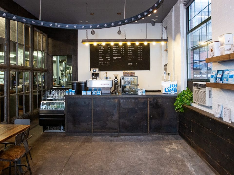 Roastery Cafe in Long Island City