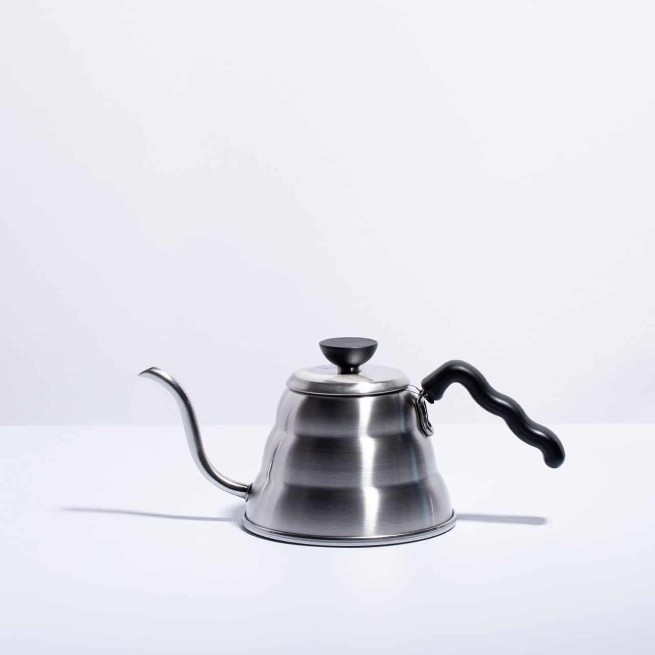 silver hario kettle