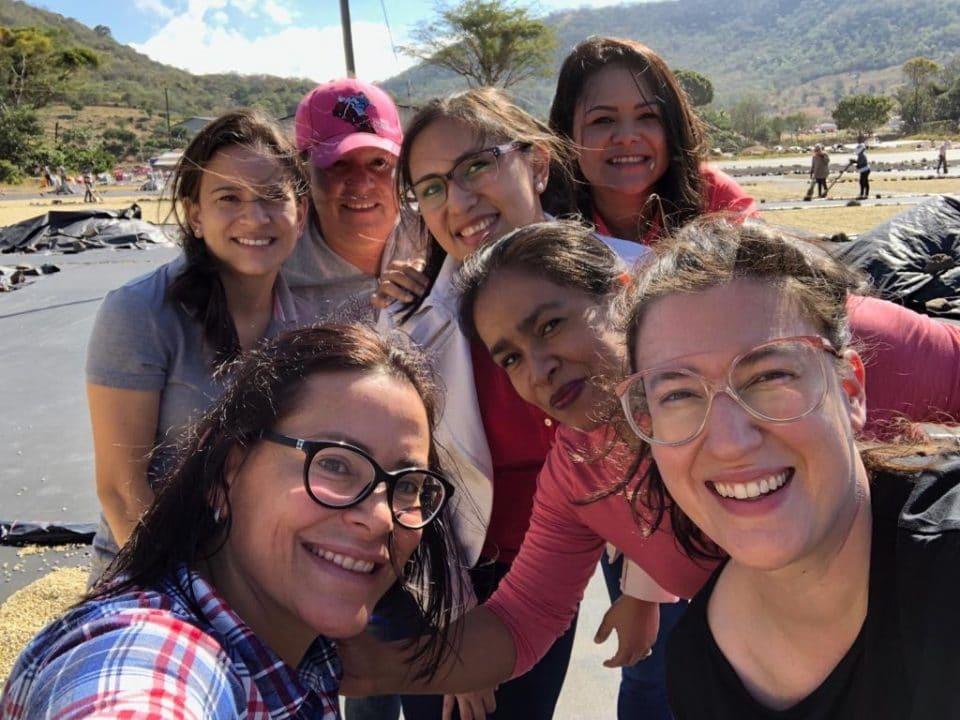 Women at Beneficio Don Esteban