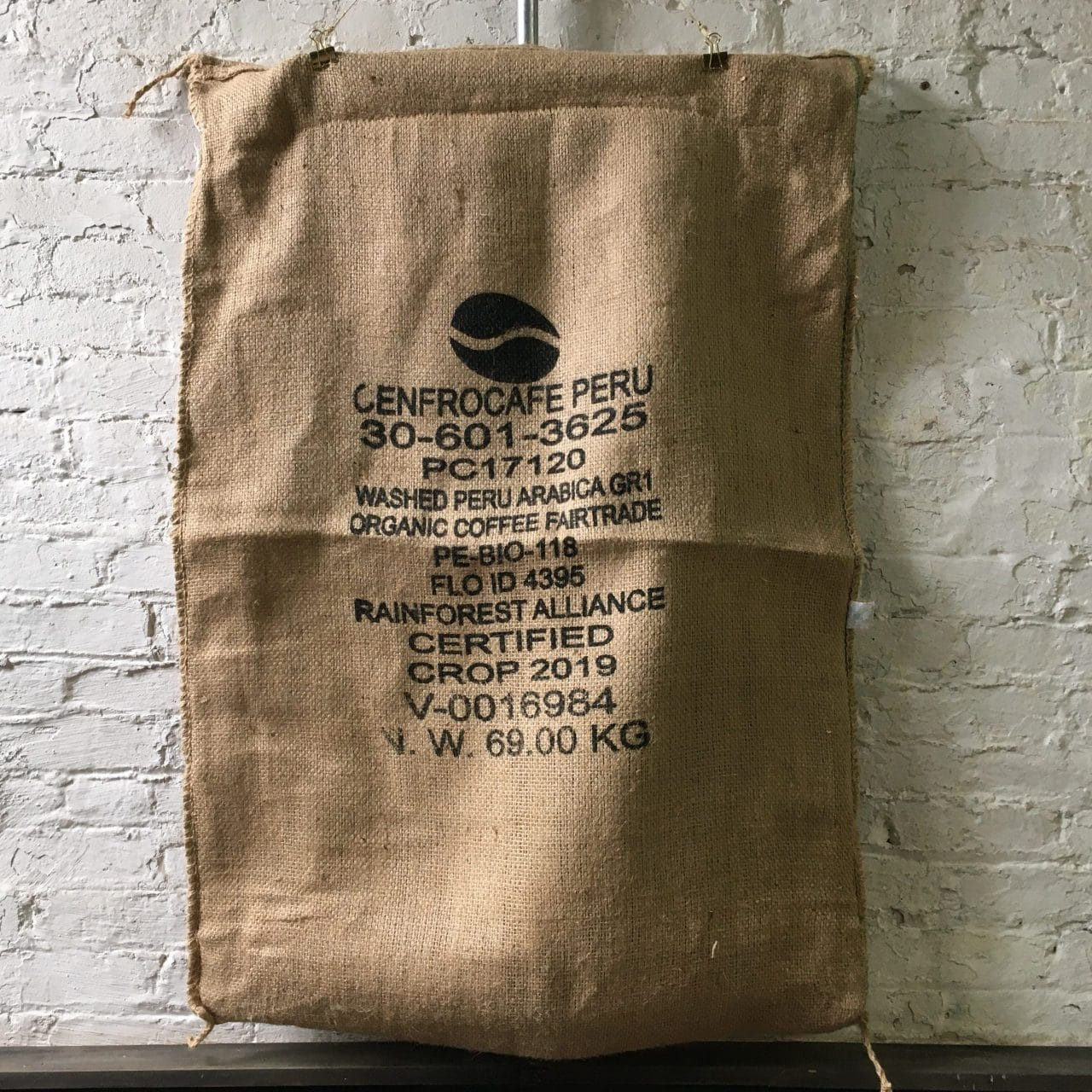 Peru Cenfrocafe Jute bag