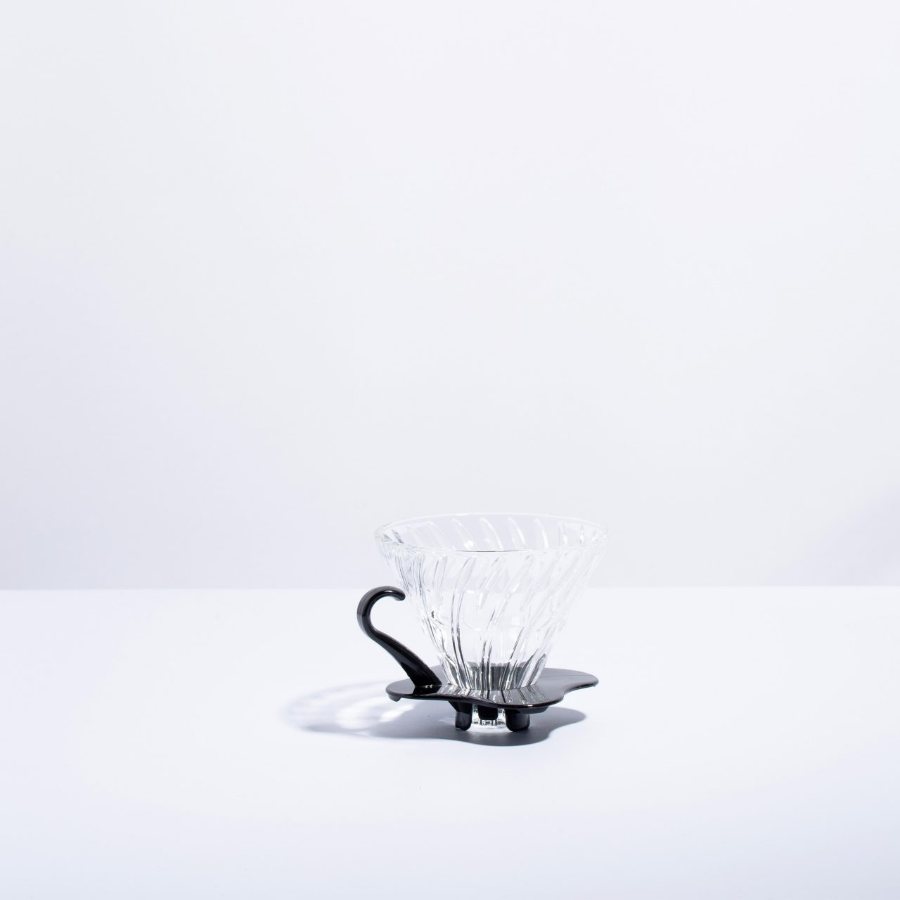 Hario V60 Glass Dripper in Black