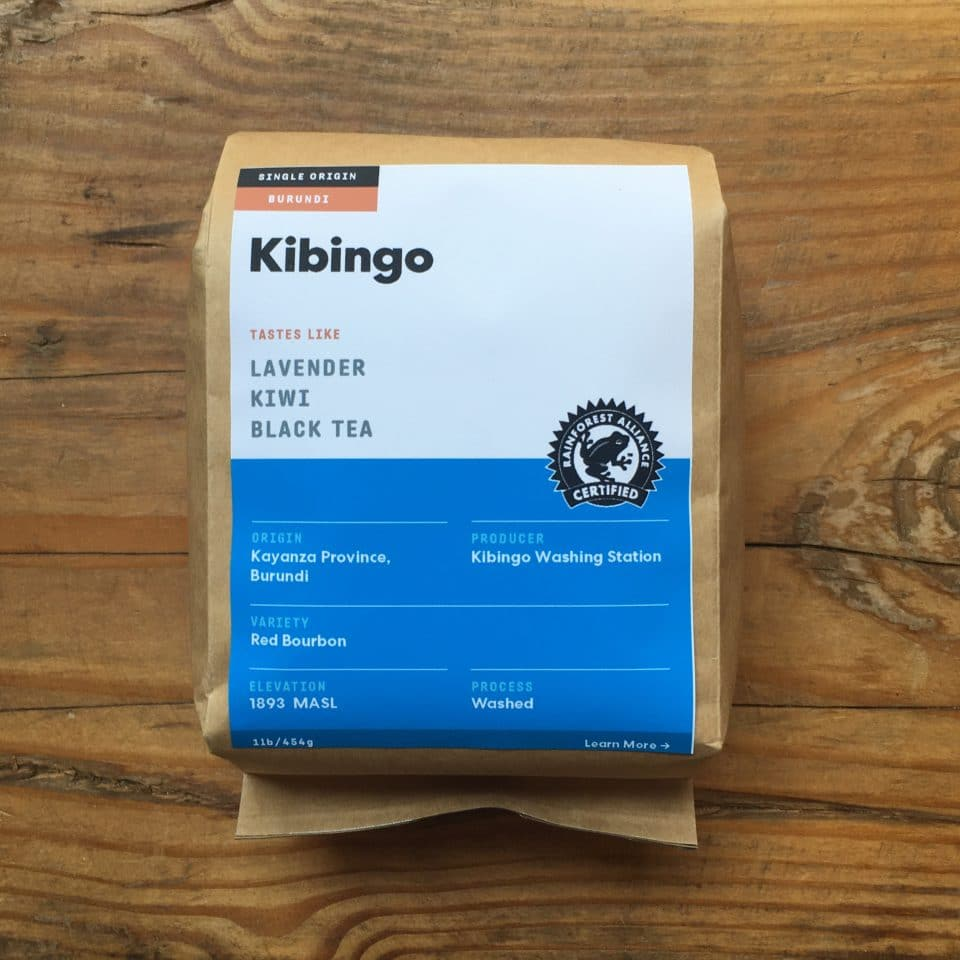 1lb Burundi Kibingo Green Coffee