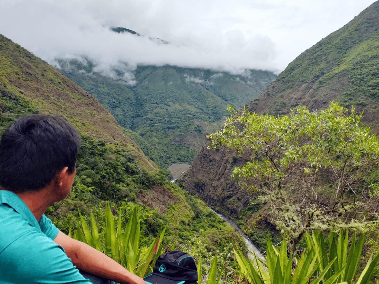 Vista in the Quillabamba region of Peru