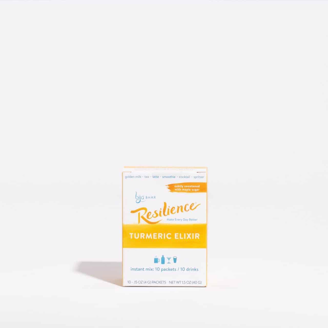 Resilience Turmeric Elixir Box of 10 sachets