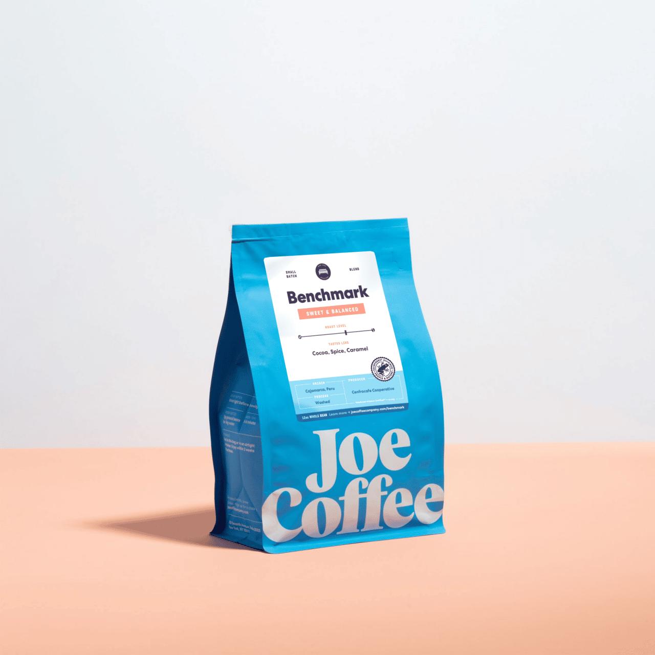 12oz bag of Benchmark coffee