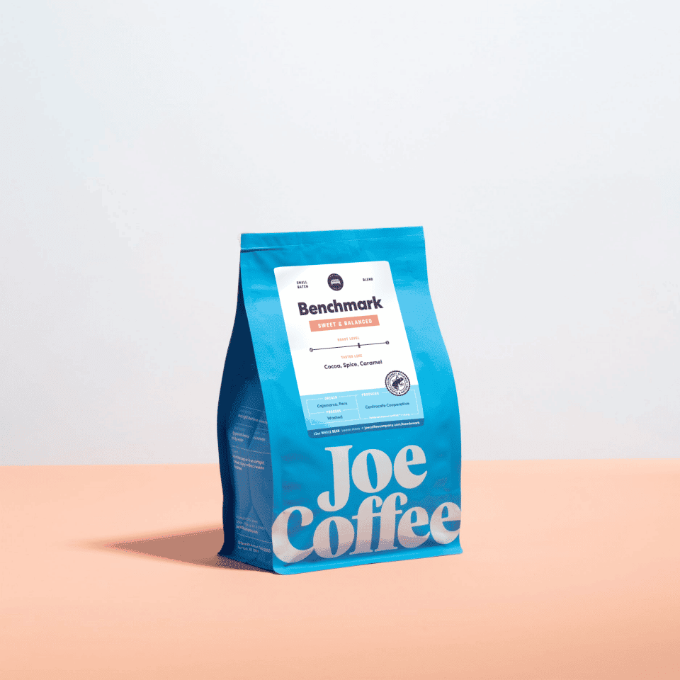12oz bag of Benchmark coffee