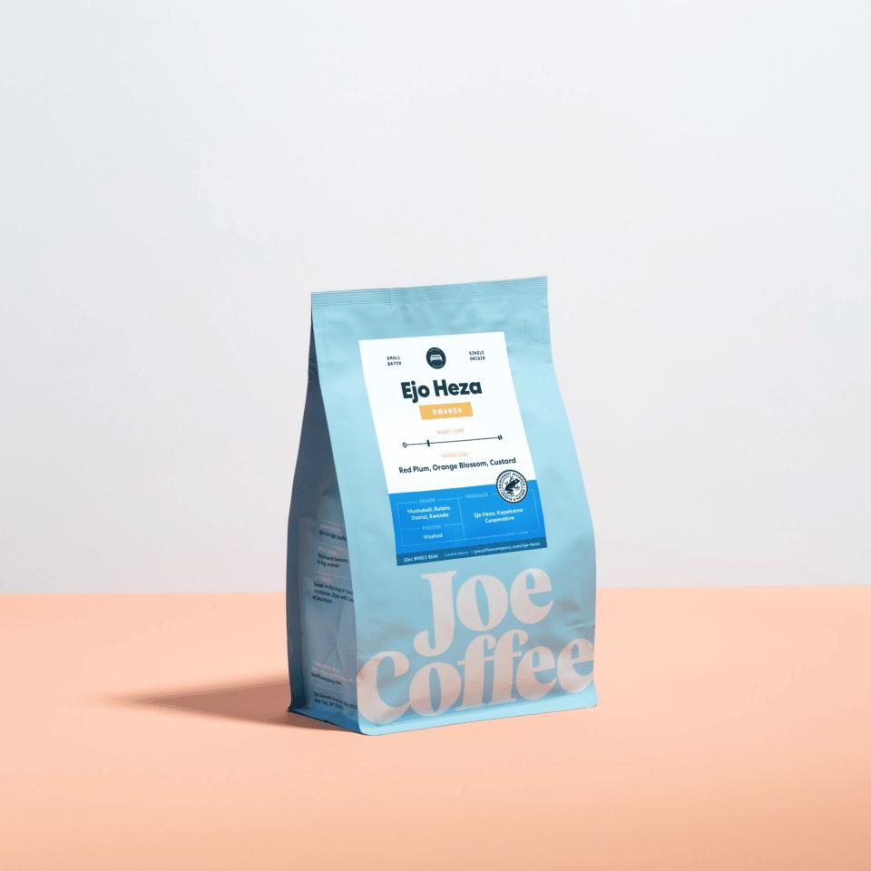 12oz bag of Rwanda Ejo Heza coffee