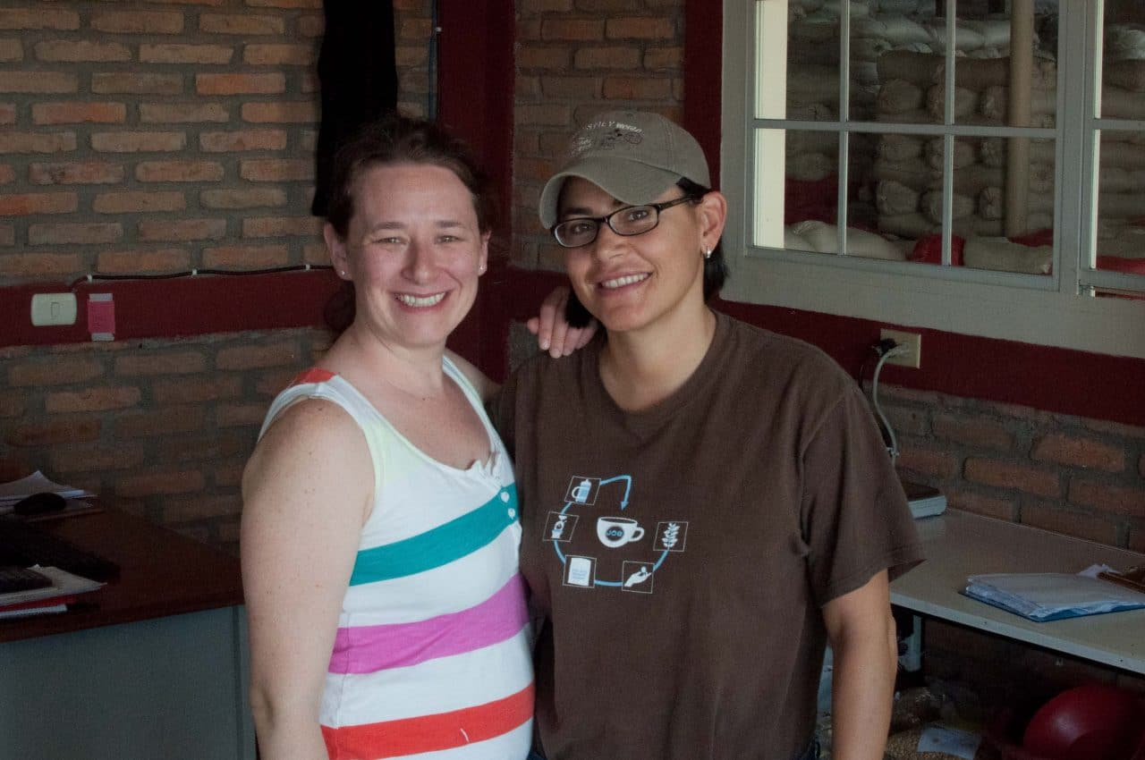 Amanda with Eleane Mierisch